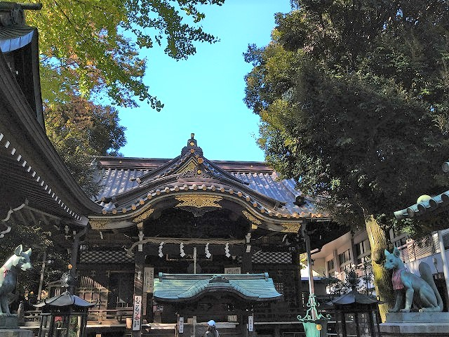 豊川稲荷東京別院の本殿