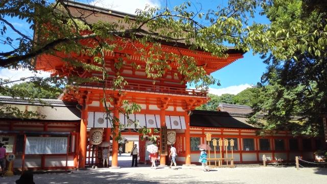 下鴨神社にお詣りしたい