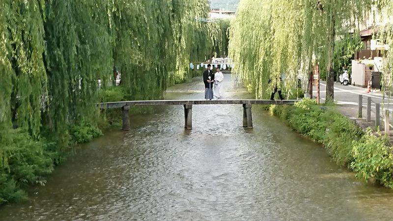 知恩院古門前橋から白川一本橋