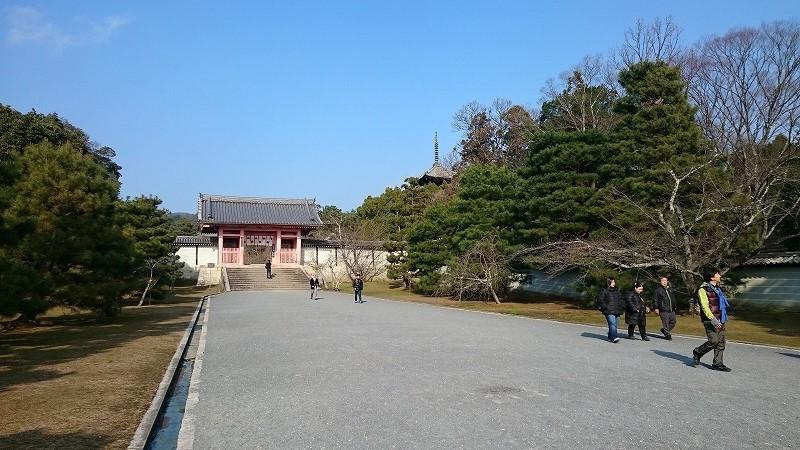 仁和寺からのタクシー料金