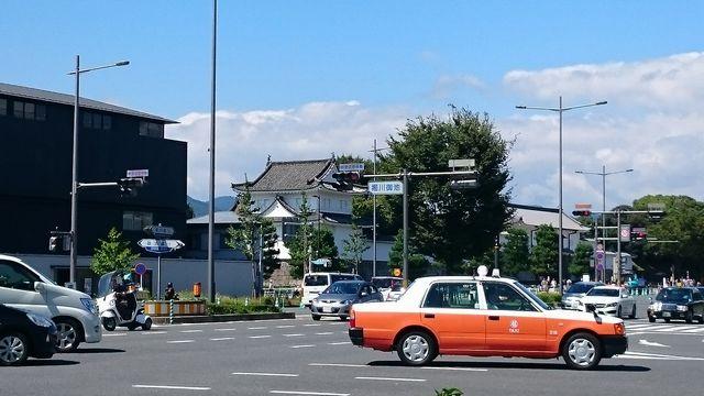 御金神社へのタクシー料金